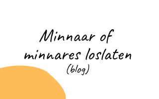 Je minnaar of minnares loslaten